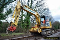 2020-01-06 Track renewal Cowpat Crossing to just beyond Dickers Crossing. (41) 041