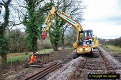 2020-01-06 Track renewal Cowpat Crossing to just beyond Dickers Crossing. (50) 050