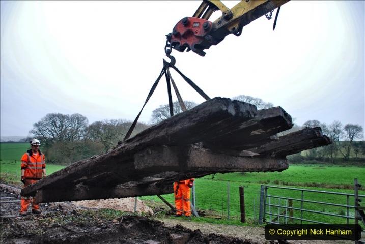 2020-01-07 Track renewal Cowpat Crossing to Just beyond Dickers Crossing. (100) 100