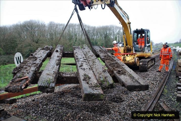 2020-01-07 Track renewal Cowpat Crossing to Just beyond Dickers Crossing. (101) 101