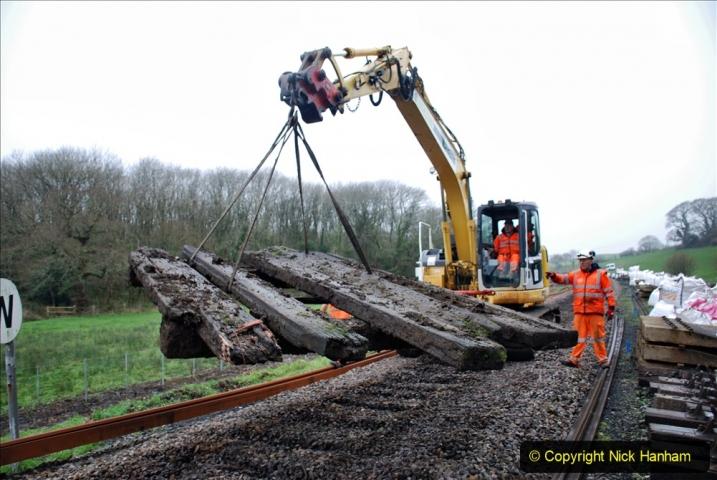2020-01-07 Track renewal Cowpat Crossing to Just beyond Dickers Crossing. (102) 102