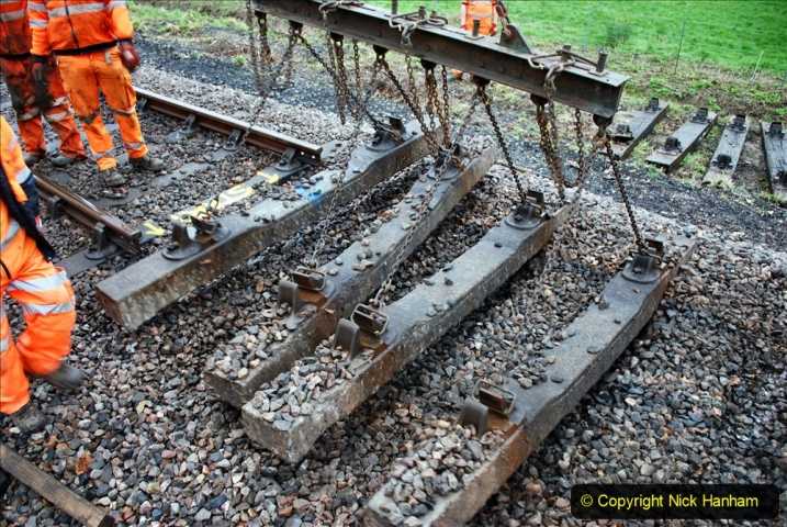 2020-01-07 Track renewal Cowpat Crossing to Just beyond Dickers Crossing. (113) 113
