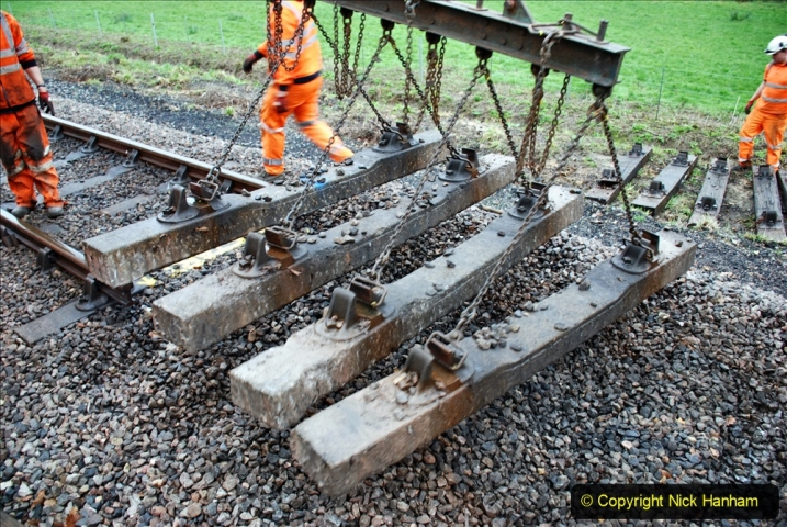 2020-01-07 Track renewal Cowpat Crossing to Just beyond Dickers Crossing. (114) 114