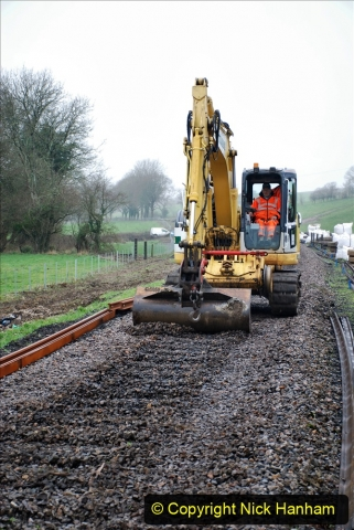 2020-01-07 Track renewal Cowpat Crossing to Just beyond Dickers Crossing. (117) 117