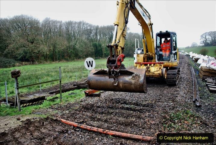 2020-01-07 Track renewal Cowpat Crossing to Just beyond Dickers Crossing. (118) 118