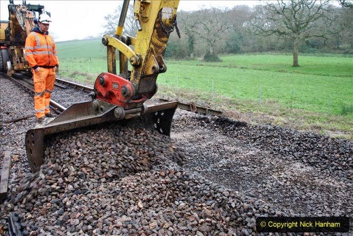 2020-01-07 Track renewal Cowpat Crossing to Just beyond Dickers Crossing. (119) 119