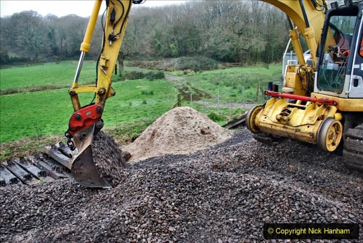 2020-01-07 Track renewal Cowpat Crossing to Just beyond Dickers Crossing. (120) 120