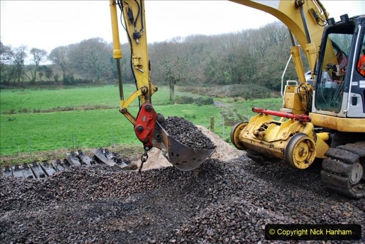 2020-01-07 Track renewal Cowpat Crossing to Just beyond Dickers Crossing. (121) 121