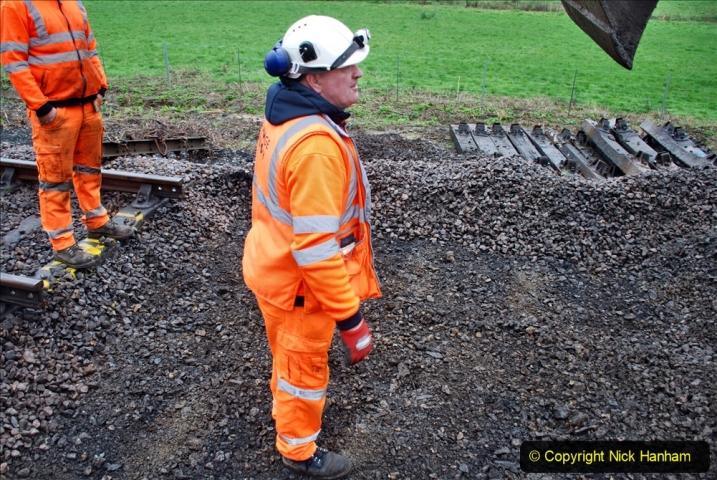 2020-01-07 Track renewal Cowpat Crossing to Just beyond Dickers Crossing. (123) 123