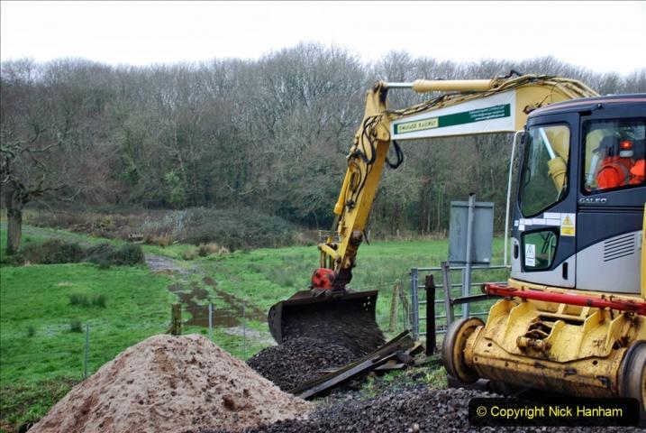 2020-01-07 Track renewal Cowpat Crossing to Just beyond Dickers Crossing. (127) 127