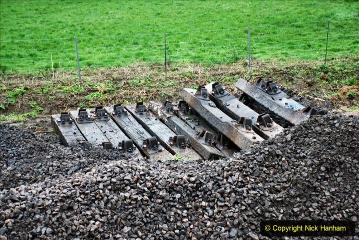 2020-01-07 Track renewal Cowpat Crossing to Just beyond Dickers Crossing. (129) 129