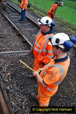 2020-01-07 Track renewal Cowpat Crossing to Just beyond Dickers Crossing. (131) 131