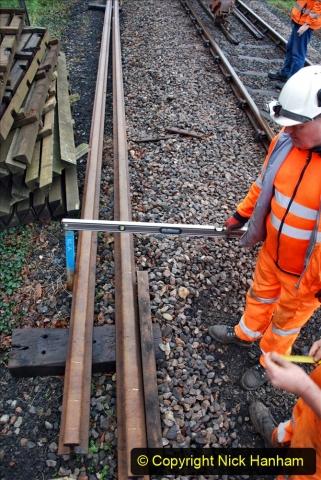 2020-01-07 Track renewal Cowpat Crossing to Just beyond Dickers Crossing. (132) 132
