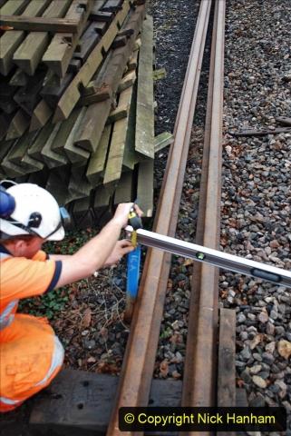 2020-01-07 Track renewal Cowpat Crossing to Just beyond Dickers Crossing. (133) 133