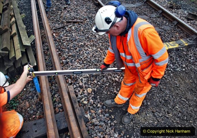 2020-01-07 Track renewal Cowpat Crossing to Just beyond Dickers Crossing. (134) 134
