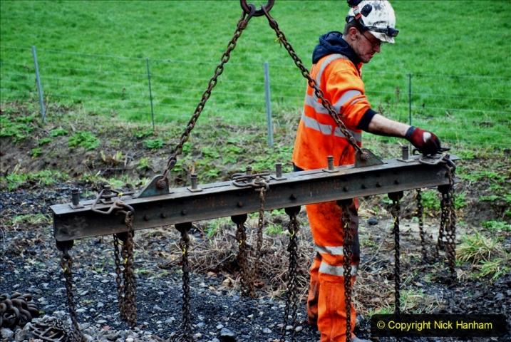 2020-01-07 Track renewal Cowpat Crossing to Just beyond Dickers Crossing. (136) 136