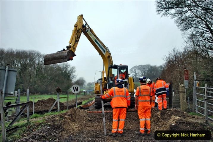 2020-01-07 Track renewal Cowpat Crossing to Just beyond Dickers Crossing. (138) 138