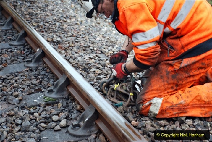 2020-01-07 Track renewal Cowpat Crossing to Just beyond Dickers Crossing. (139) 139