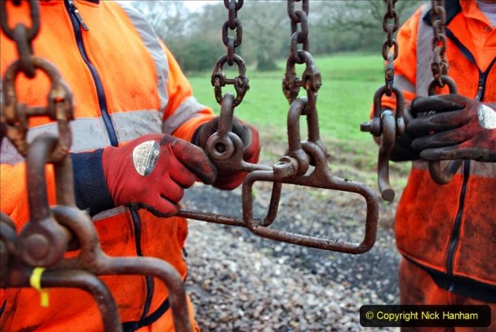 2020-01-07 Track renewal Cowpat Crossing to Just beyond Dickers Crossing. (140) 140