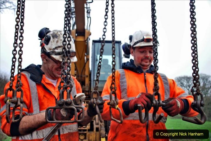 2020-01-07 Track renewal Cowpat Crossing to Just beyond Dickers Crossing. (142) 142