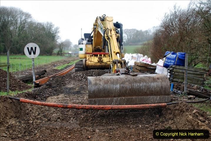 2020-01-07 Track renewal Cowpat Crossing to Just beyond Dickers Crossing. (143) 143