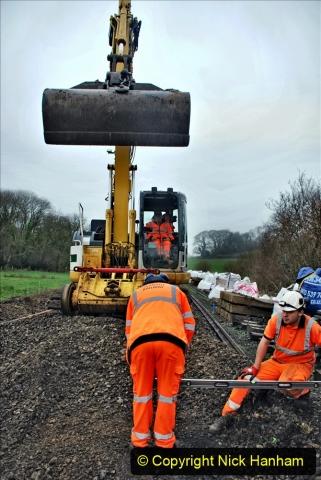 2020-01-07 Track renewal Cowpat Crossing to Just beyond Dickers Crossing. (147) 147