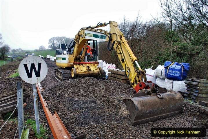 2020-01-07 Track renewal Cowpat Crossing to Just beyond Dickers Crossing. (148) 148
