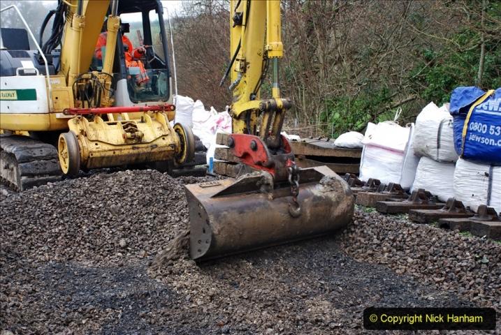 2020-01-07 Track renewal Cowpat Crossing to Just beyond Dickers Crossing. (149) 149