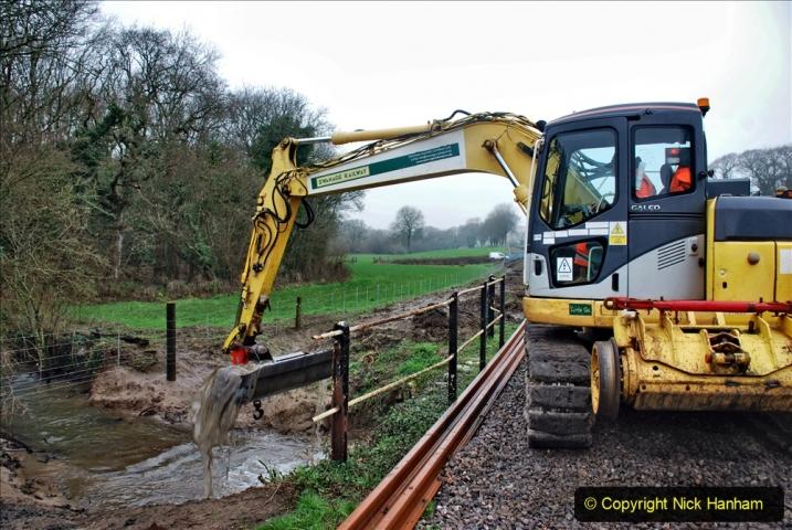 2020-01-07 Track renewal Cowpat Crossing to Just beyond Dickers Crossing. (159) 159