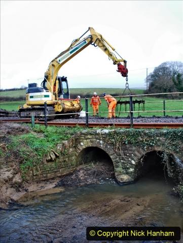 2020-01-07 Track renewal Cowpat Crossing to Just beyond Dickers Crossing. (16) 016