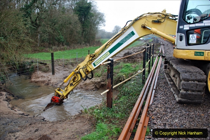 2020-01-07 Track renewal Cowpat Crossing to Just beyond Dickers Crossing. (160) 160