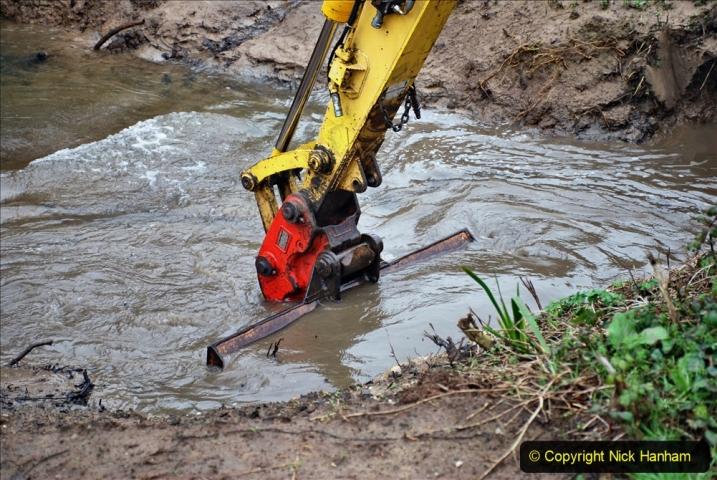 2020-01-07 Track renewal Cowpat Crossing to Just beyond Dickers Crossing. (161) 161