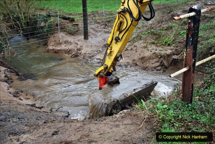 2020-01-07 Track renewal Cowpat Crossing to Just beyond Dickers Crossing. (162) 162