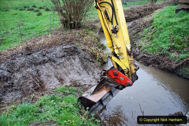 2020-01-07 Track renewal Cowpat Crossing to Just beyond Dickers Crossing. (163) 163