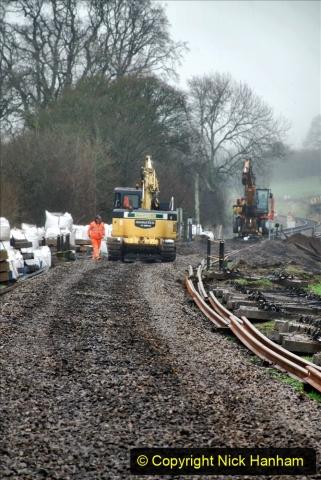 2020-01-07 Track renewal Cowpat Crossing to Just beyond Dickers Crossing. (166) 166