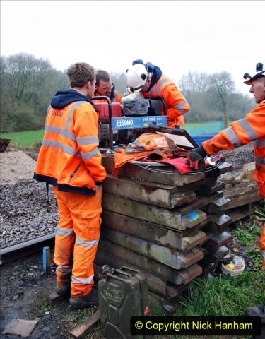 2020-01-07 Track renewal Cowpat Crossing to Just beyond Dickers Crossing. (167) 167