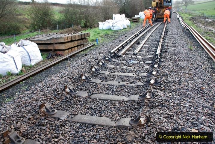2020-01-07 Track renewal Cowpat Crossing to Just beyond Dickers Crossing. (23) 023