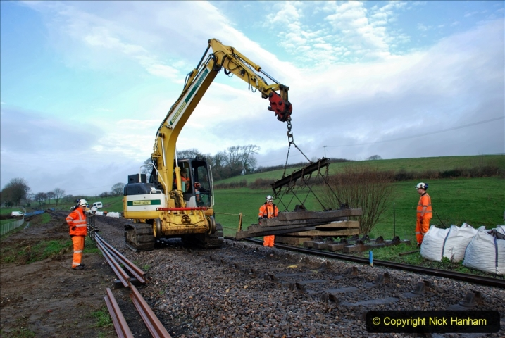 2020-01-07 Track renewal Cowpat Crossing to Just beyond Dickers Crossing. (24) 024