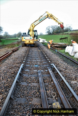 2020-01-07 Track renewal Cowpat Crossing to Just beyond Dickers Crossing. (25) 025