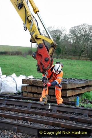 2020-01-07 Track renewal Cowpat Crossing to Just beyond Dickers Crossing. (26) 026