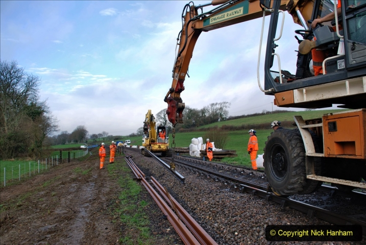 2020-01-07 Track renewal Cowpat Crossing to Just beyond Dickers Crossing. (28) 028