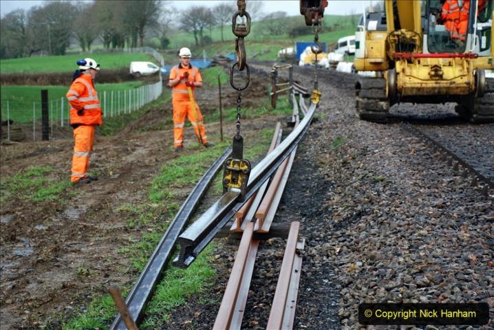 2020-01-07 Track renewal Cowpat Crossing to Just beyond Dickers Crossing. (31) 031