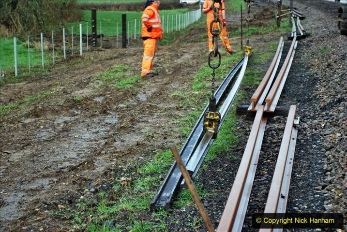 2020-01-07 Track renewal Cowpat Crossing to Just beyond Dickers Crossing. (32) 032