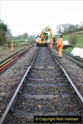 2020-01-07 Track renewal Cowpat Crossing to Just beyond Dickers Crossing. (33) 033