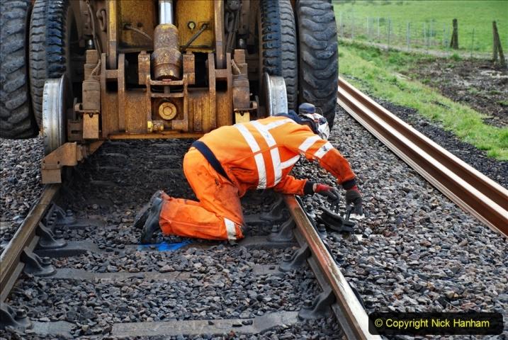 2020-01-07 Track renewal Cowpat Crossing to Just beyond Dickers Crossing. (35) 035