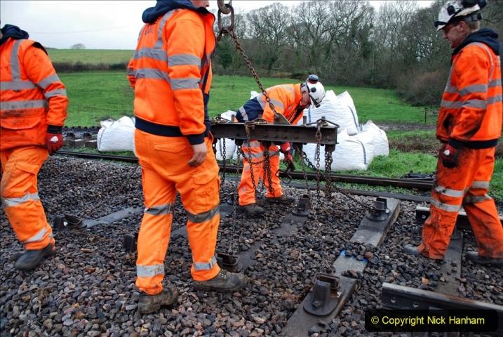 2020-01-07 Track renewal Cowpat Crossing to Just beyond Dickers Crossing. (36) 036