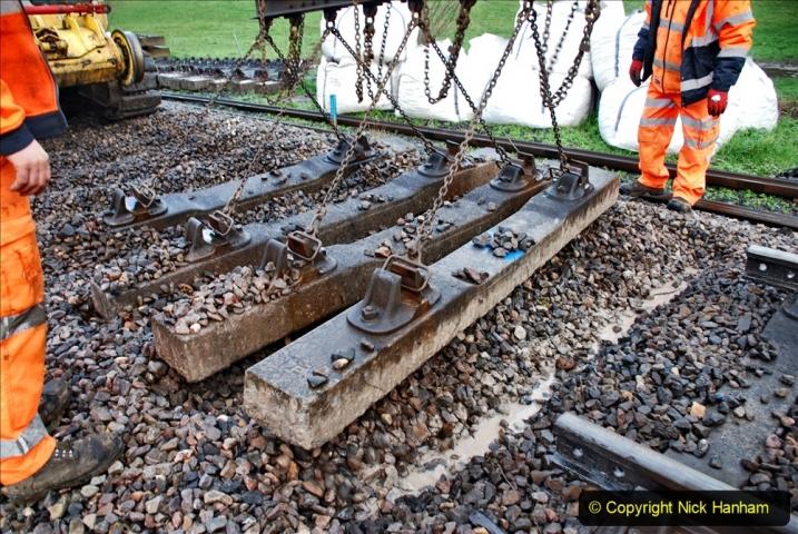 2020-01-07 Track renewal Cowpat Crossing to Just beyond Dickers Crossing. (38) 038