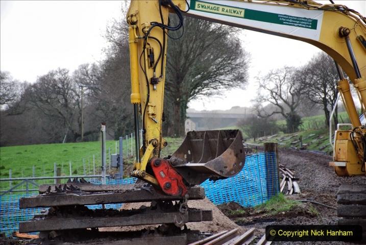 2020-01-07 Track renewal Cowpat Crossing to Just beyond Dickers Crossing. (40) 040