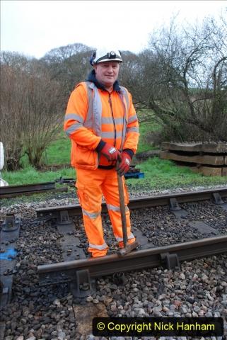 2020-01-07 Track renewal Cowpat Crossing to Just beyond Dickers Crossing. (41) 041