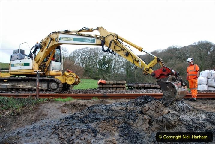 2020-01-07 Track renewal Cowpat Crossing to Just beyond Dickers Crossing. (47) 047